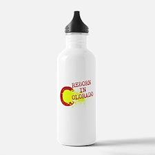 REBORN IN COLORADO Water Bottle