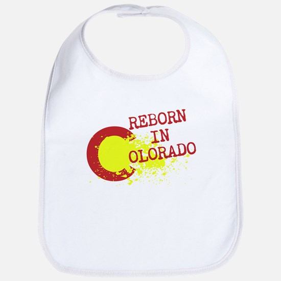 REBORN IN COLORADO Bib