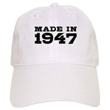 Made In 1947 Baseball Cap