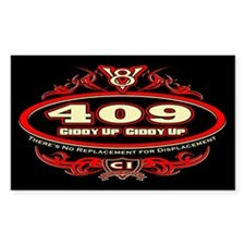 409 Chevy Decal