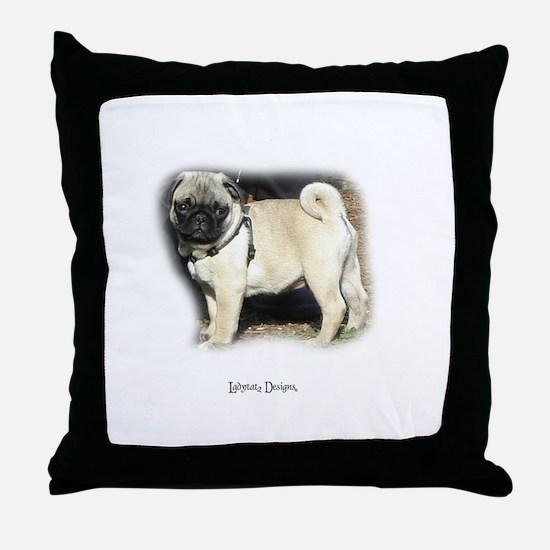 Pugs Rule Throw Pillow