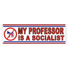 PROFESSOR SOCIALIST_001 Bumper Bumper Sticker