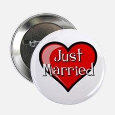 "Just Married 2.25"" Button"