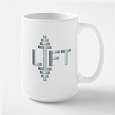 LIFT -- Fit Metal Designs Large Mug
