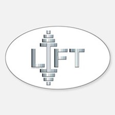 LIFT -- Fit Metal Designs Decal