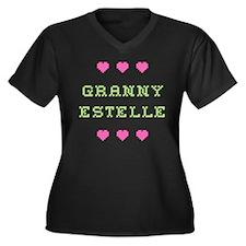 Granny Estelle Plus Size T-Shirt