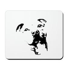 Pitbull Dog Mousepad