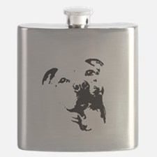 Pitbull Dog Flask