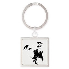 Pitbull Dog Keychains