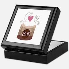 85th Birthday Cupcake Keepsake Box