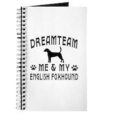 English Foxhound Dog Designs Journal