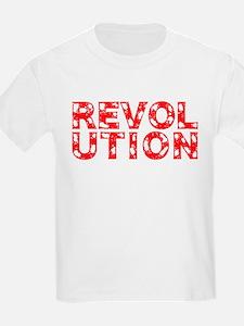 REVOLUTION DAMAGED RED T-Shirt