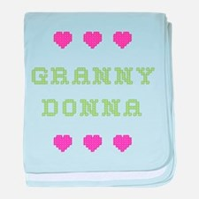 Granny Donna baby blanket