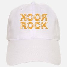 Rock 2 Orange Baseball Baseball Cap