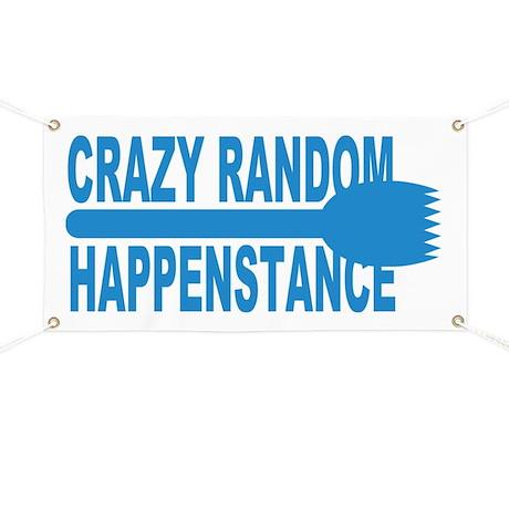 Crazy Random Happenstance Banner