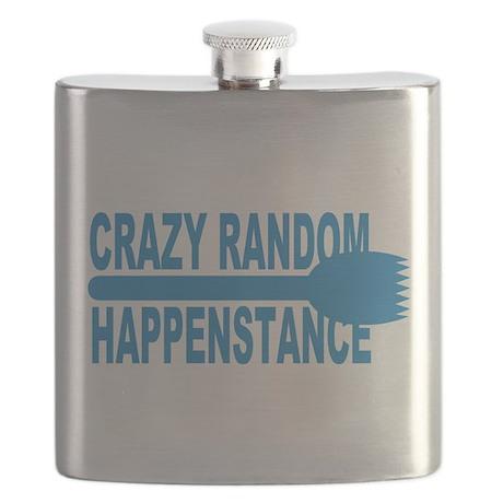 Crazy Random Happenstance Flask