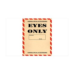 Eyes Only Wall Decal