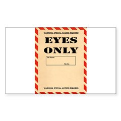 Eyes Only Decal