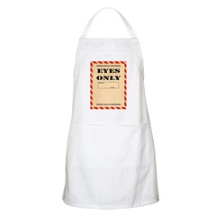 Eyes Only Apron