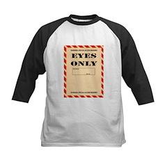 Eyes Only Baseball Jersey