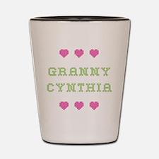 Granny Cynthia Shot Glass