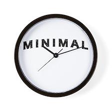 Minimal Damaged Wall Clock