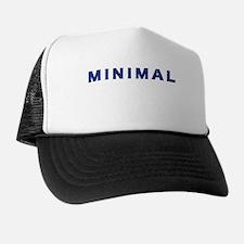 Minimal Damaged Blue Trucker Hat