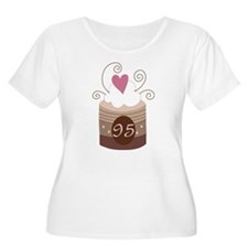 95th Birthday Cupcake T-Shirt