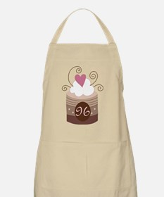 96th Birthday Cupcake Apron