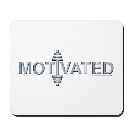 MOTIVATED -- Fit Metal Designs Mousepad