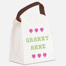 Granny Anne Canvas Lunch Bag