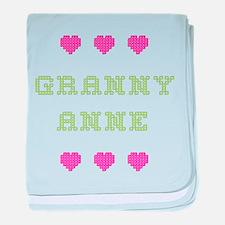 Granny Anne baby blanket