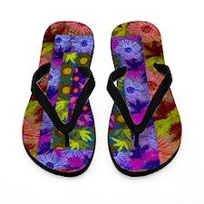 Flip Flops Flower Collage
