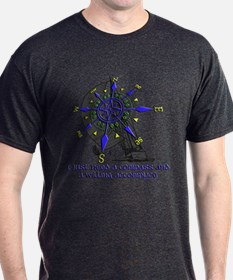 compass and willing accomplice-1-SAILING T-Shirt