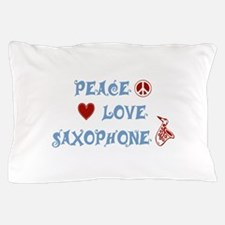 Saxophone Pillow Case