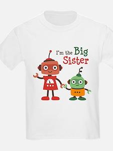 Big Sister - Retro Robot T-Shirt