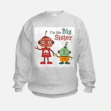 Big Sister - Retro Robot Sweatshirt