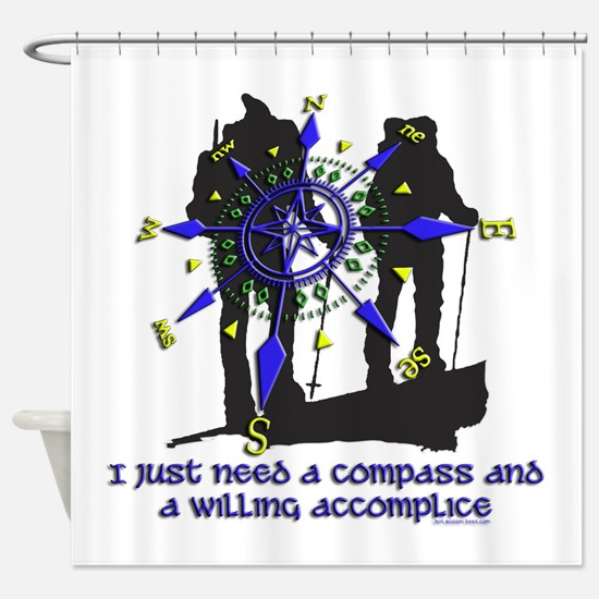 compass and willing accomplice-1-HIKING Shower Cur