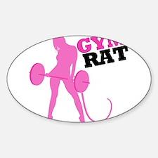 Gym Rat Decal