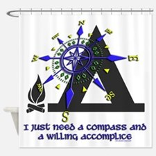 compass and willing accomplice-1-CAMPING Shower Cu