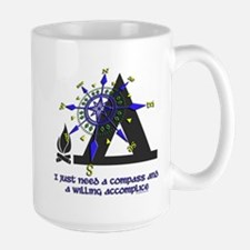 compass and willing accomplice-1-CAMPING Mug