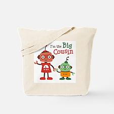 Big Cousin - Robot Tote Bag