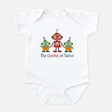Big Cousin of Twins - Robot Infant Bodysuit
