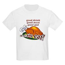 """Let's Eat!"" Kids T-Shirt"