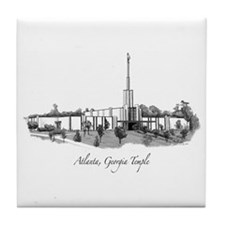 Atlanta, Georgia Temple Tile Coaster