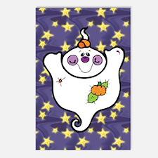 Cute Ghost Postcards (Package of 8)