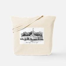 Baton Rouge, Louisiana Temple Tote Bag
