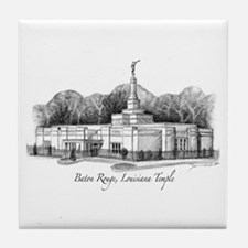 Baton Rouge, Louisiana Temple Tile Coaster
