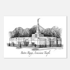 Baton Rouge, Louisiana Temple Postcards (Package o