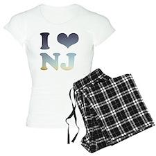 i love new jersey Pajamas